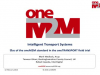 Use of the oneM2M standard in the oneTRANSPORT field