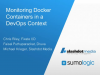 Monitoring Docker Containers in a DevOps Context
