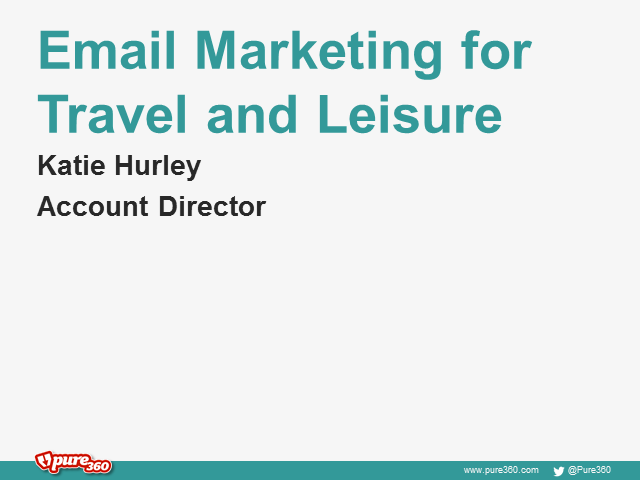 Email Marketing for Travel & Leisure