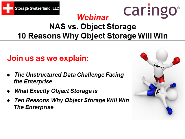 NAS vs. Object Storage: 10 Reasons Why Object Storage Will Win