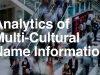 Analytics of Multi-Cultural Name Information