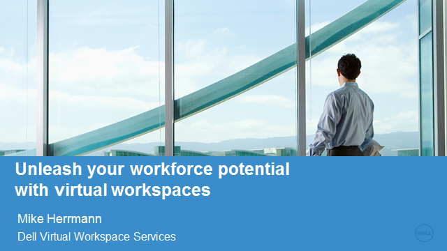 Unleash your workforce's potential with virtual workspaces