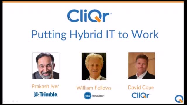 Putting Hybrid IT to Work for You