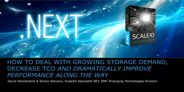 Dealing with growing storage demands: Improving TCO & performance