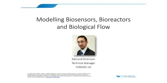 Modelling biosensors, bioreactors and biological flow