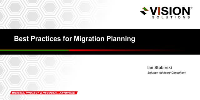 Best Practices for Migration Planning