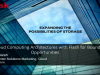 Cloud Computing Architectures with Flash for Boundless Opportunities