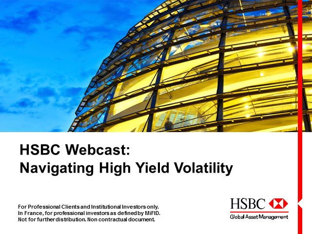 HSBC Webcast: Navigating High Yield Volatility