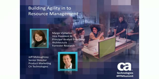 Building Agility in to Resource Management 1 PDU