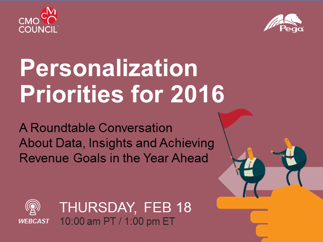Personalization Priorities for 2016: A Roundtable Conversation