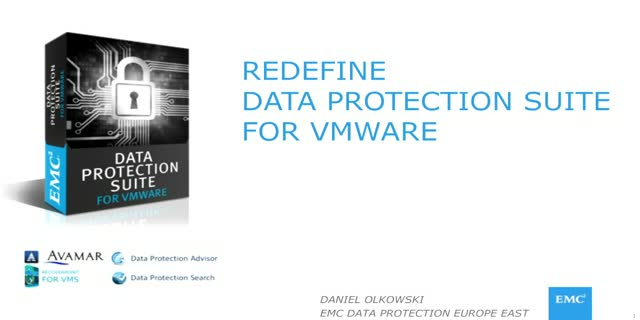 Redefine Data Protection for VMware