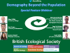 British Ecological Society journals: Demography beyond the population