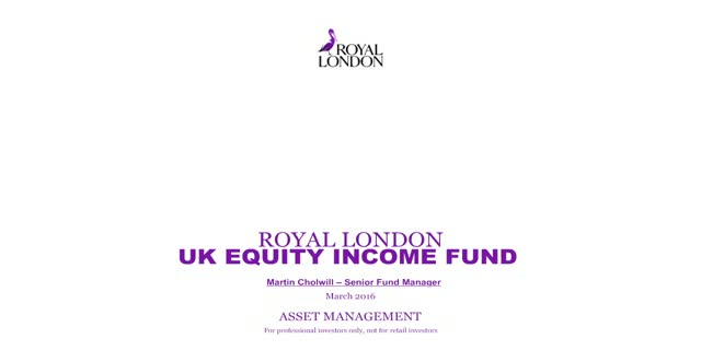 UK Equity Income investing