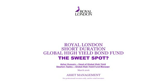 Outlook for Global High Yield