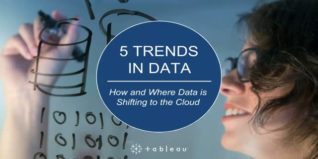 5 Trends in Data: How and Where Data is Shifting to the Cloud