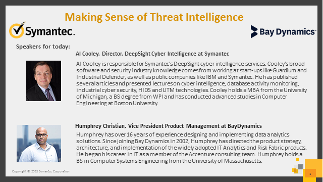 Making Sense of Threat Intelligence