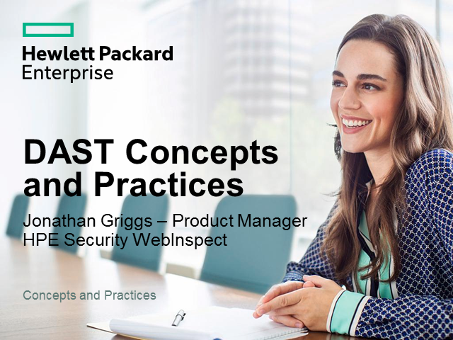 DAST Concepts and Practices