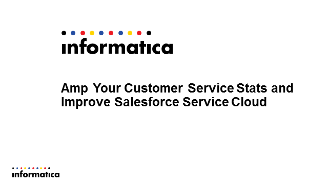 Amp Your Customer Service Statistics to Improve Salesforce Service Cloud