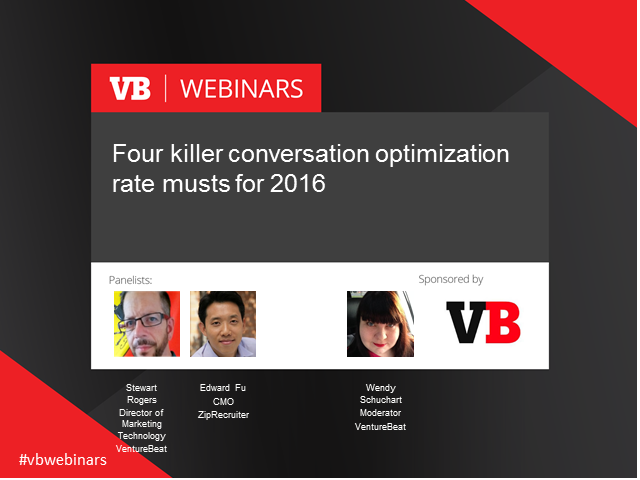 Four killer conversion rate optimization musts for 2016
