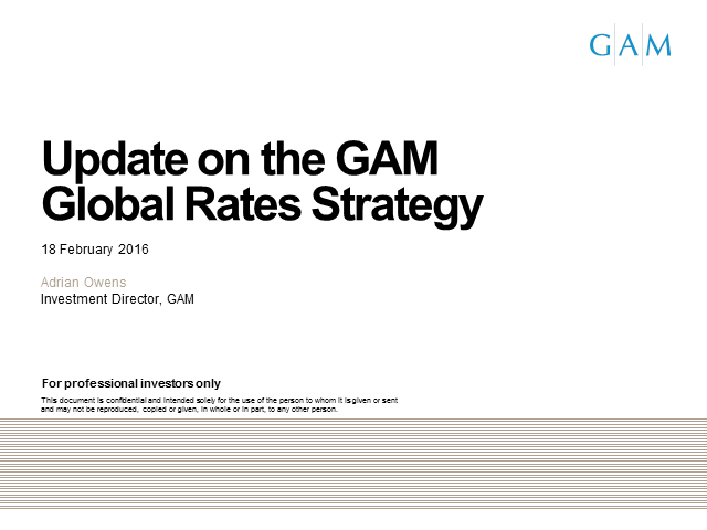 GAM Star Global Rates: Performance review and outlook