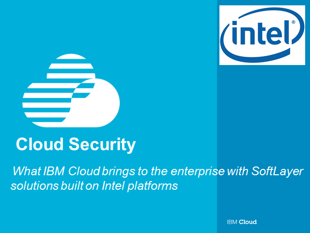 How to Build Control and Data Security in the Cloud