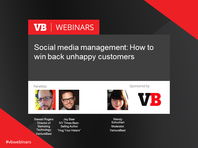 Social media management: How to win back unhappy customers