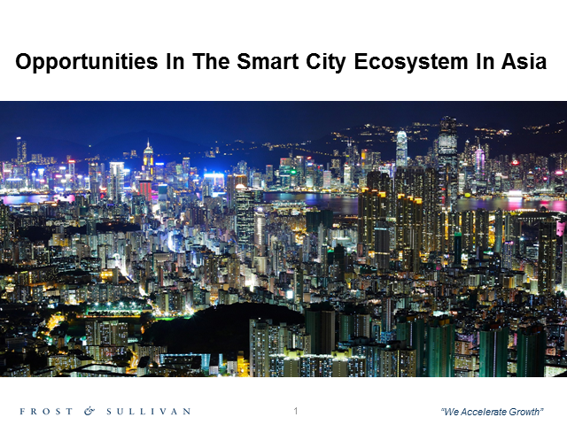 Opportunities in the Smart Cities Ecosystem in Asia