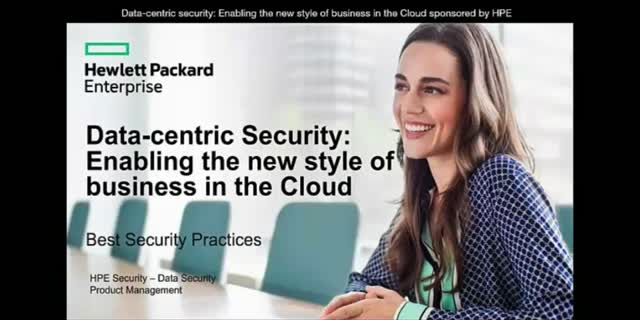 Data-centric security:  Enabling the new style of business in the Cloud