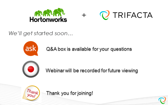 How PepsiCo Reduced Analytics Build Time by 90% with Hortonworks & Trifacta