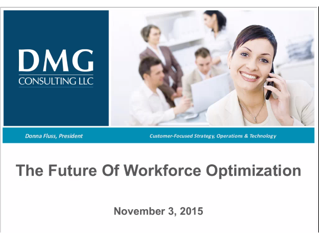DMG Consulting Group share insights on WFO