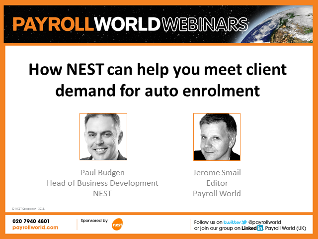 How NEST can help you meet client demand for auto enrolment