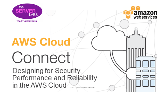 Designing for Security, Performance and Reliability in the AWS Cloud