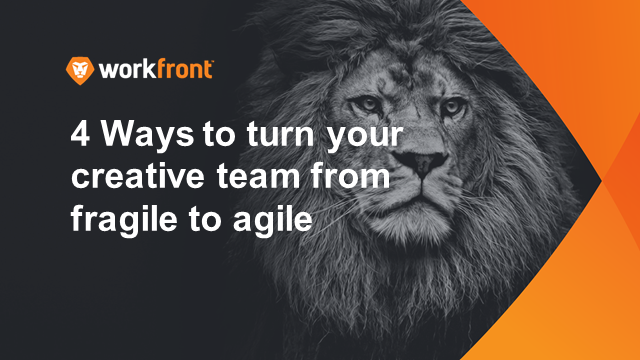 Four ways to turn your creative team from fragile to agile