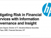 Mitigating Risk in Financial Services with Information Governance and Insight