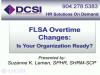 FLSA Changes: Is Your Organization Prepared?