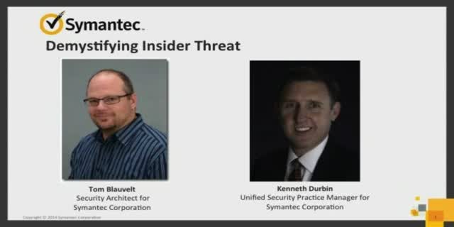 Demystifying Insider Threat
