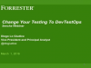 Key Trends and Innovations in Web App Testing - Featuring Forrester Research