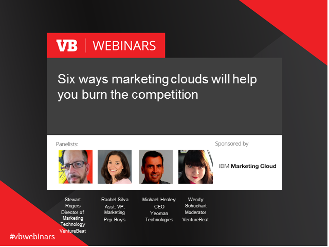 Six ways marketing clouds will help you burn the competition