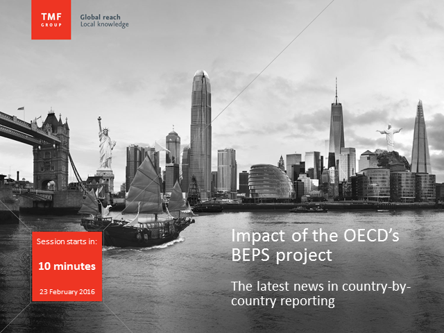 Impact of the OECD's BEPS project