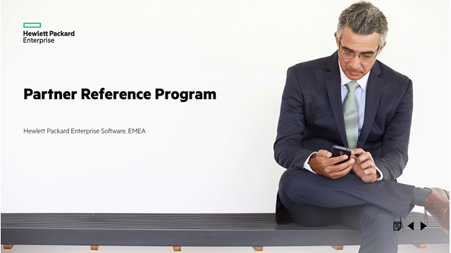 Be an ambassador: Introducing the HPE Software Partner Reference Program