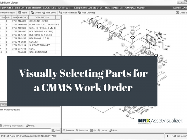 Visual Parts Selection for Work Orders Made Easy