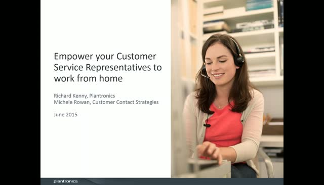 Empower your Customer Service Representatives to work from home