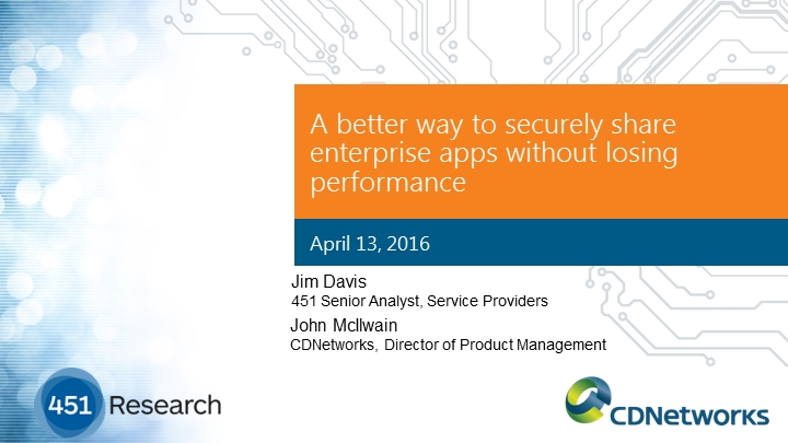 Securely Sharing Enterprise Apps:  Best Practices Without Losing Performance