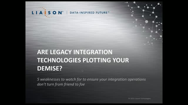 Are legacy integration technologies plotting your demise?