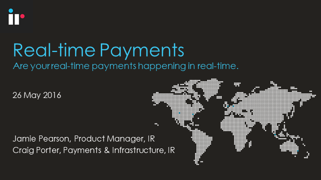 Are your Real-time Payments Happening in Real-time?