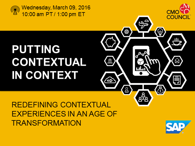 Putting Contextual in Context: Redefining Contextual Experiences
