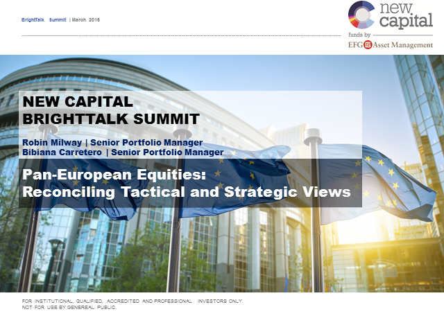 Reconciling tactical and strategic views for pan-European equities