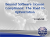 Beyond Software License Compliance. The Road to Optimization.