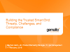 Building the Trusted Smart Grid: Threats, Challenges, and Compliance