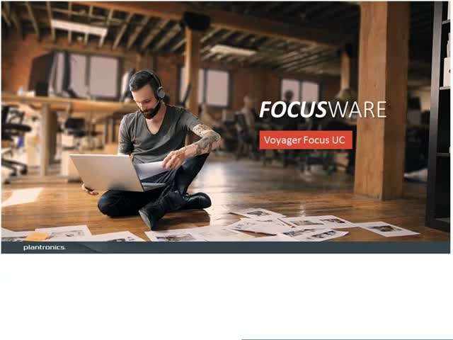 Introducing the Voyager Focus UC